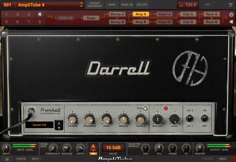 Darrell From Hell 100 amp