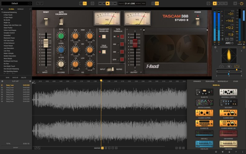 T-RackS TASCAM Tape Collection - Image