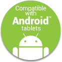 Works with Android Tablets