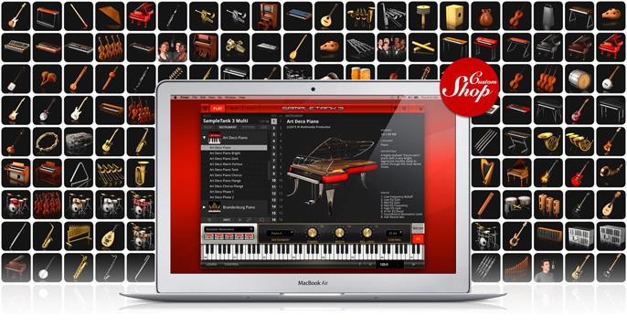 IK Multimedia • SampleTank 3 CS now allows import and editing!