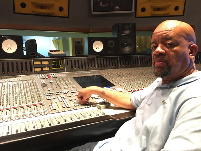 Mix engineer Gary Noble using iLoud Micro Monitor
