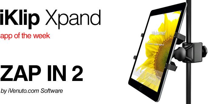 IK Multimedia | iKlip Xpand Stand - Universal desktop riser