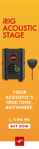 IK Multimedia's iRig Acoustic Stage