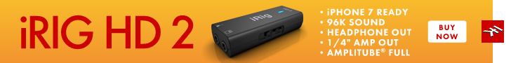 IK Multimedia's iRig HD 2