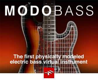IK Multimedia's MODO BASS