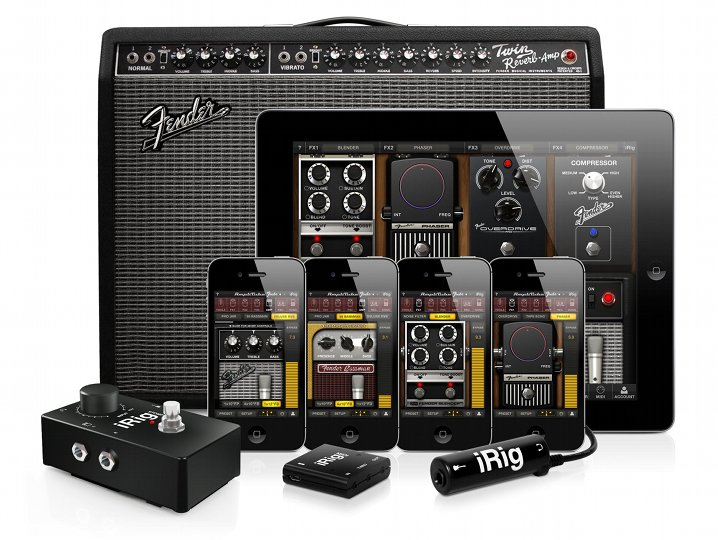 AmpliTube Fender for iPhone, iPod Touch and iPad