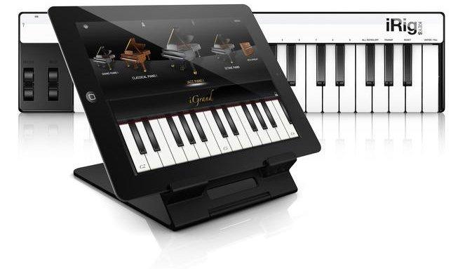 iGrand Piano and iRig KEYS