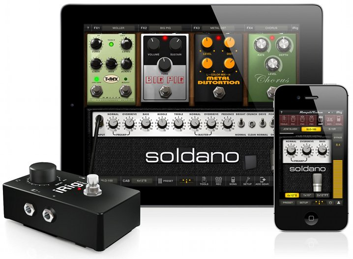 AmpliTube 2.6 for iPhone and iPad
