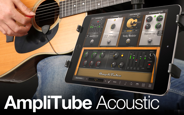 AmpliTube Acoustic - The first complete mobile Acoustic Tone Studio for iPhone/iPod touch/iPad