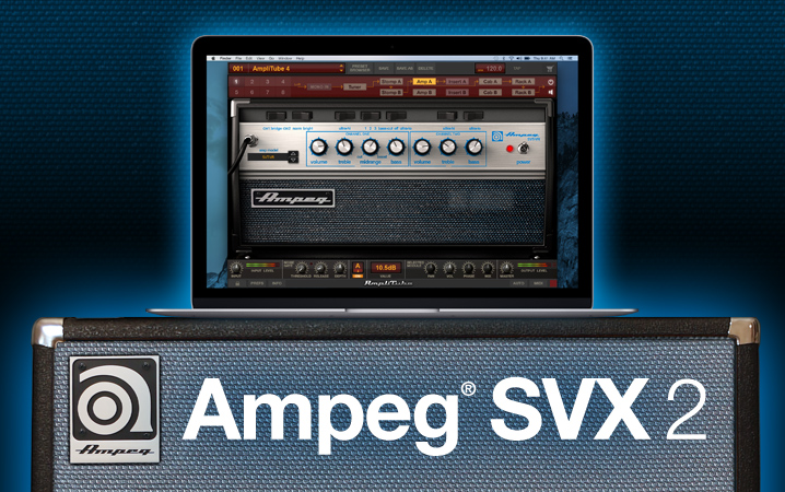 Ampeg SVX 2 collection for AmpliTube