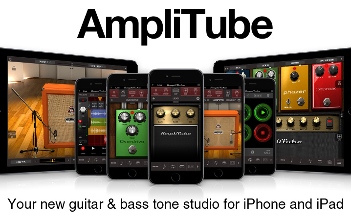 AmpliTube for iPhone/iPod touch and iPad