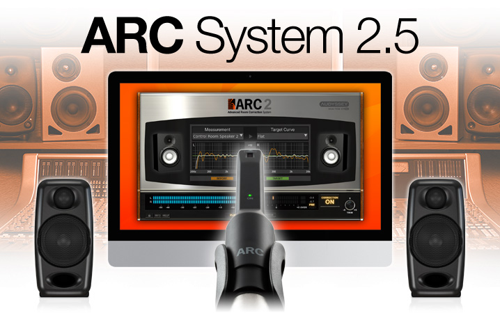 ARC System 2.5 - the first Acoustic Room Correction System plug-in with MEMS measurement microphone