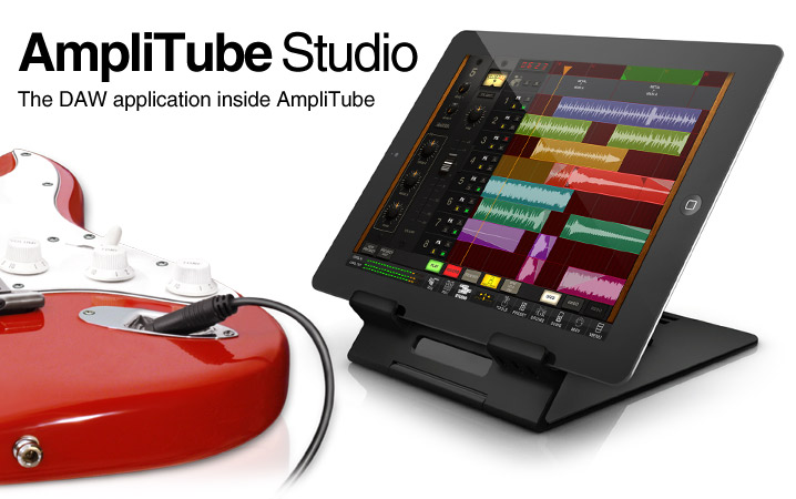 Studio - DAW application inside AmpliTube