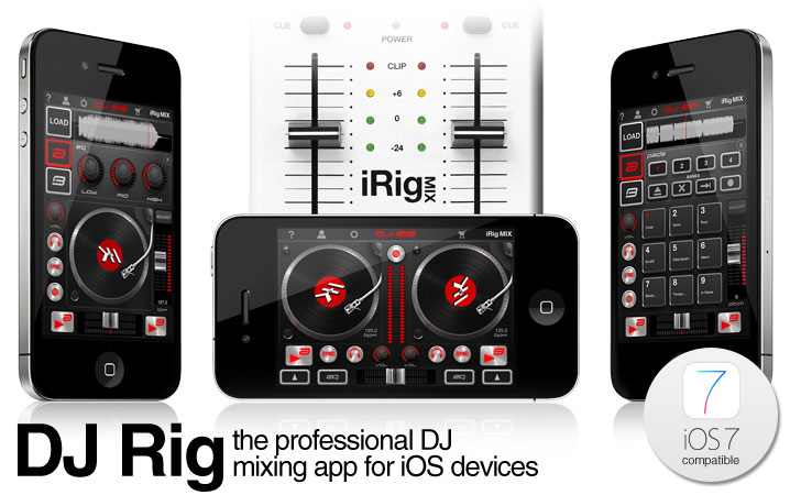 DJ Rig - professional mixing app for iOS devices