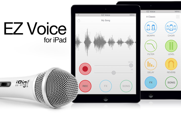 <strong>EZ Voice</strong> for iPad