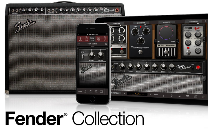 Fender Collection for iPhone and iPad