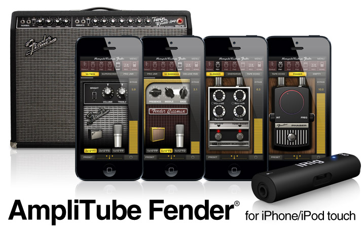 AmpliTube Fender for iPhone/iPod touch
