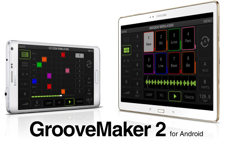 GrooveMaker - real-time remixing app for Android