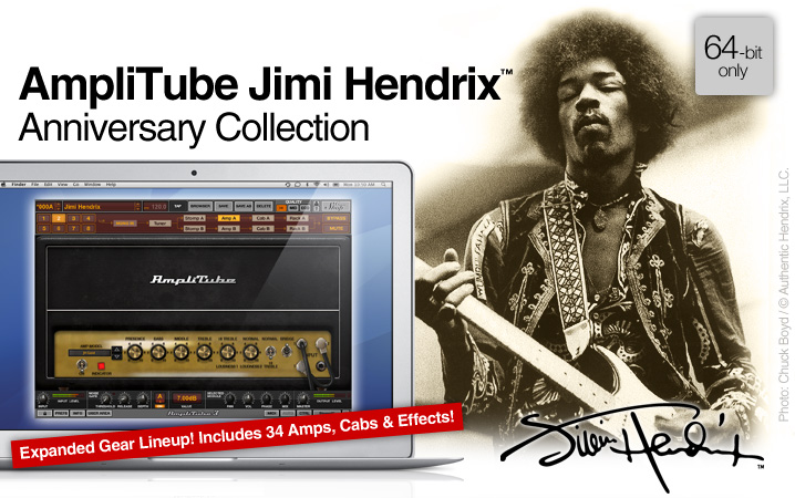 AmpliTube Jimi Hendrix Anniversary Collection