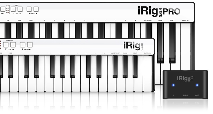 iRig Keys and iRig Keys Pro