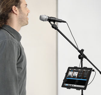 Singer iRig Mic and VocaLive