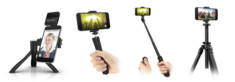 Desktop Tripod  Handle/Stabilizer  Monopod/Selfie Stick  Tripod Adapter