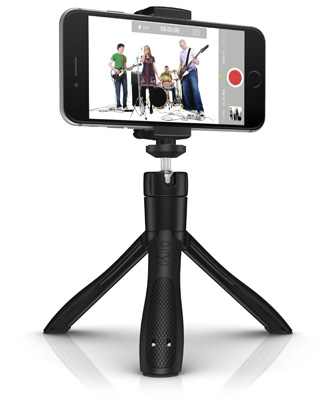 iKlip Grip as adapter for generic tripod