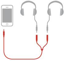 iLine headphones splitter