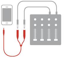 iLine output mono jacks splitter
