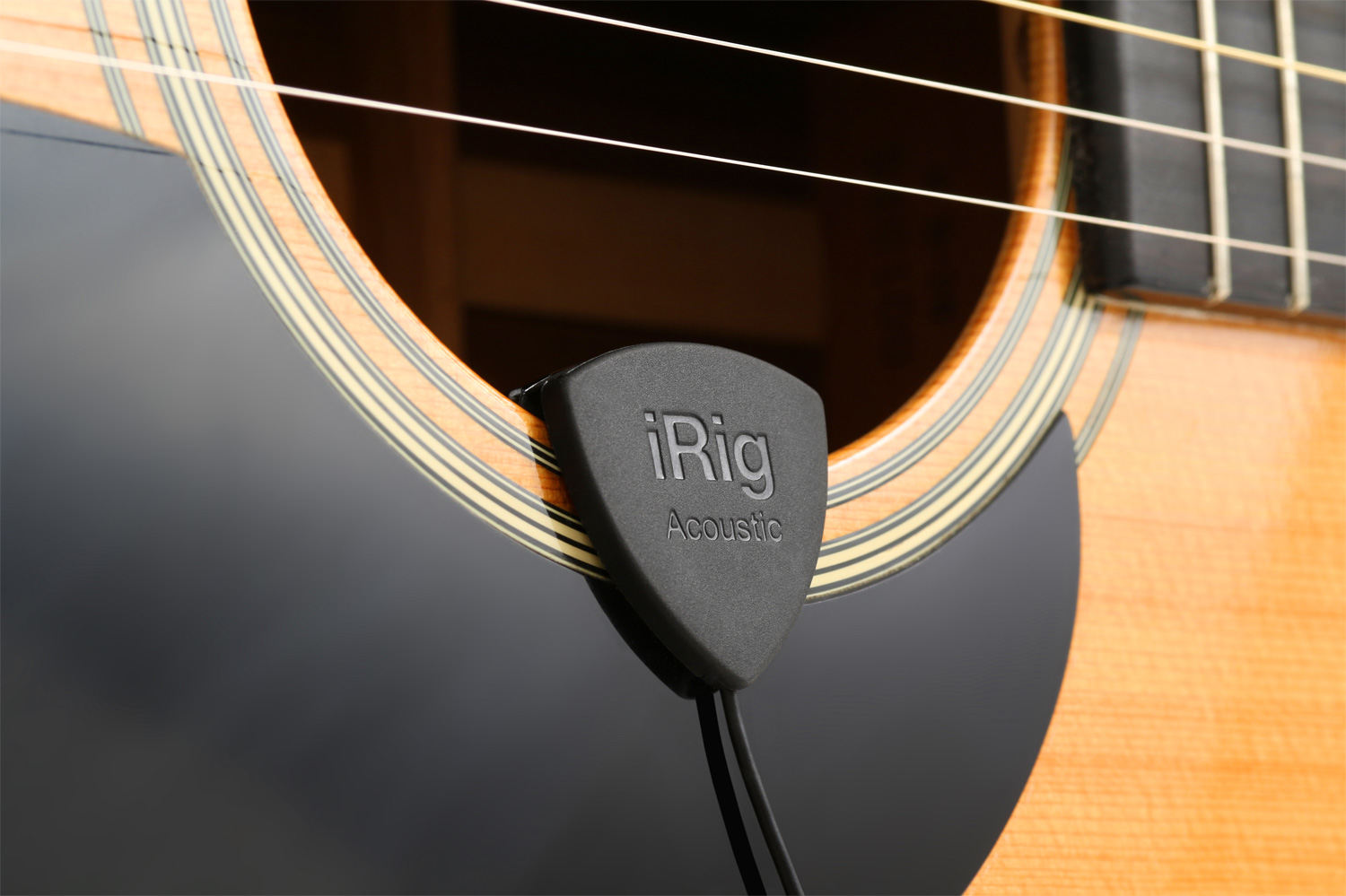 Ik Multimedia Irig Acoustic Ban Leong Technologies Limited Pickup Microphone Wire Amplifier Speaker For Guitar Black Simply Put Delivers A Pure And Full Representation Of An Guitars Tonal Characteristics