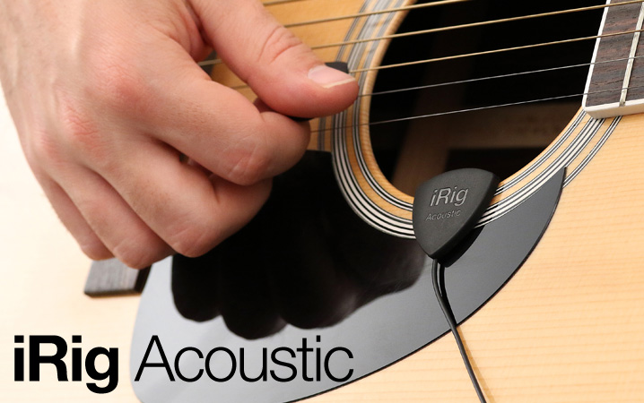 iRig Acoustic - The first acoustic guitar mobile microphone/interface