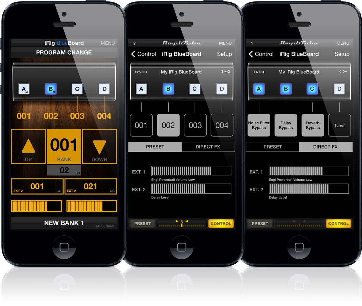 MRH Audio Malaysia| IK Multimedia iRig BlueBoard Bluetooth MIDI Foot