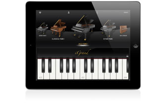 IK IGrand Piano Free for iPAD