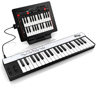 iRig KEYS with iPad