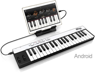 iRig Keys with Samsung