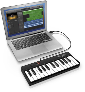 iRig Keys 25 with Mac