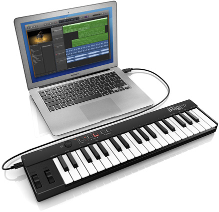 iRig Keys 37 with Mac