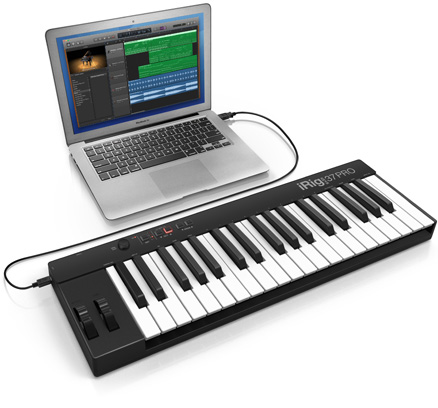 iRig Keys 37 PRO with Mac