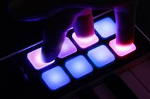 iRig Keys I/O Touch Controls