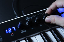 iRig Keys I/O Touch Controls