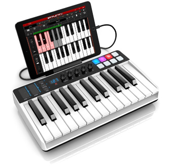 iRig Keys I/O with iOS device