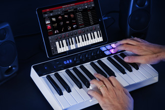 iRig Keys I/O with iPad