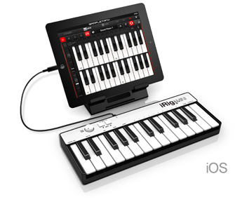 iRig Keys MINI with iPad