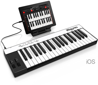 iRig Keys PRO with iPad