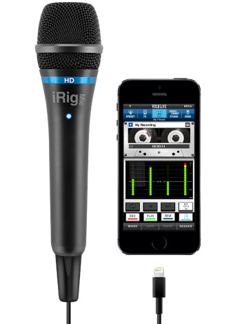 iRig Mic HD - iPhone 5s - VocaLive