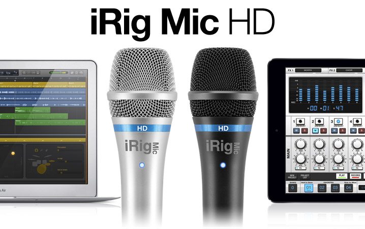 iRig Mic HD - The first handheld digital microphone for everyone