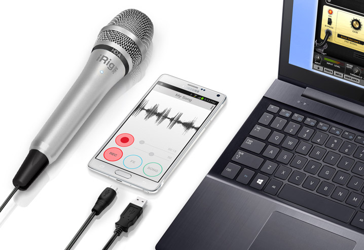 iRig Mic HD-A connections