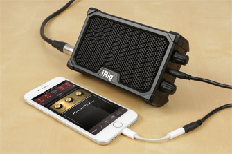 iRig Nano Amp and iPhone 7
