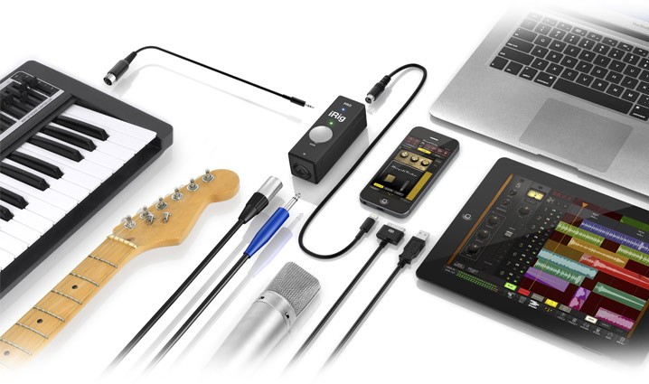 iRig PRO - Multiple Personalities, Universal Connectivity