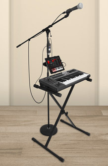 iRig PRO Controller adn Microphone